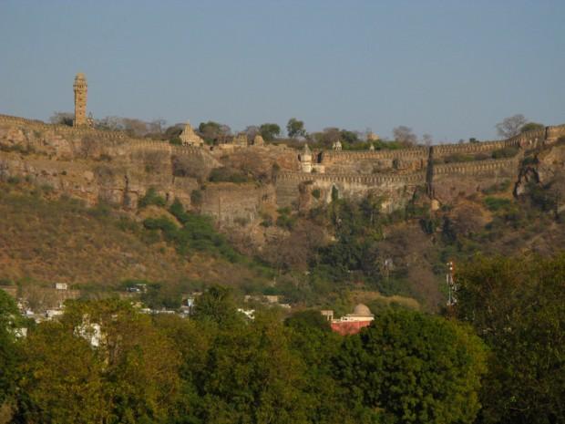 Читторгарх, крупнейшая крепость Индии