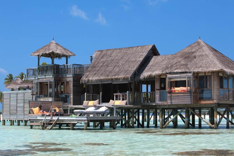 Удивительные виллы на Мальдивах