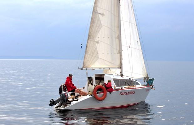 Как плавать под парусом на лодке