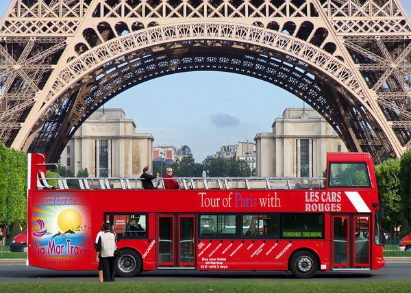 Автобусные туры по Европе в Париж