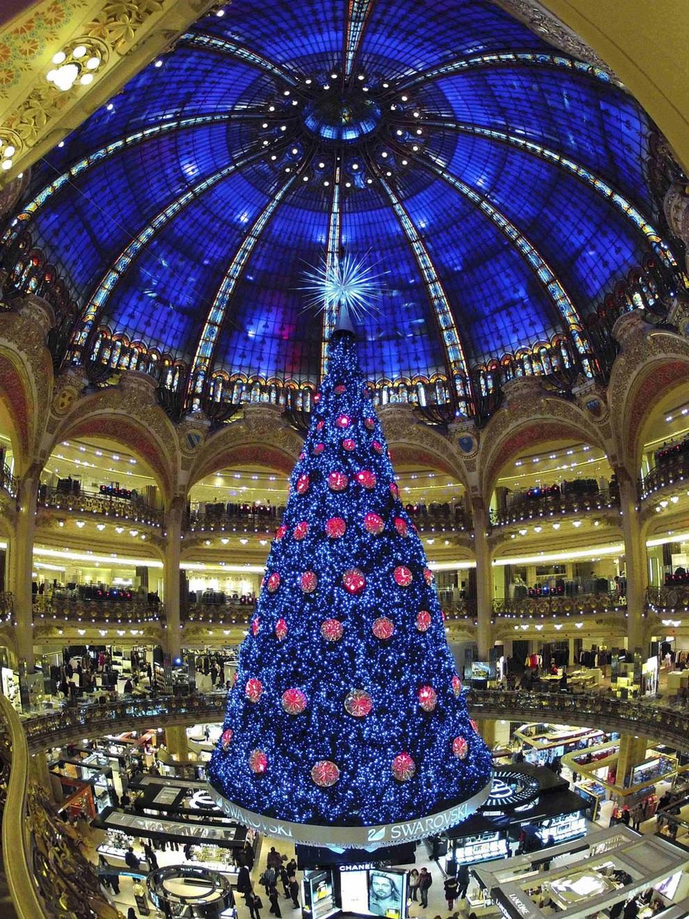 Рождественские фото парижа 4