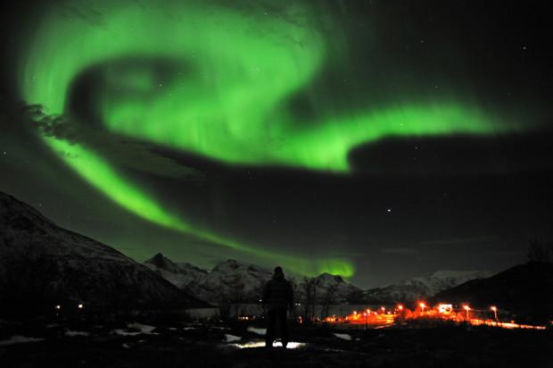 Северное сияние в Тромсе, Норвегия. Rune Stoltz Bertinussen