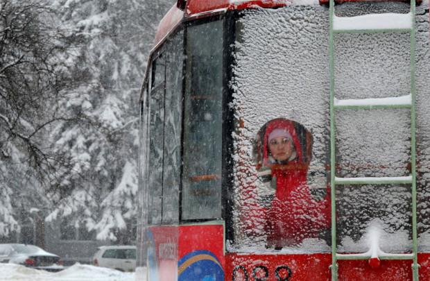 трамвай в минске