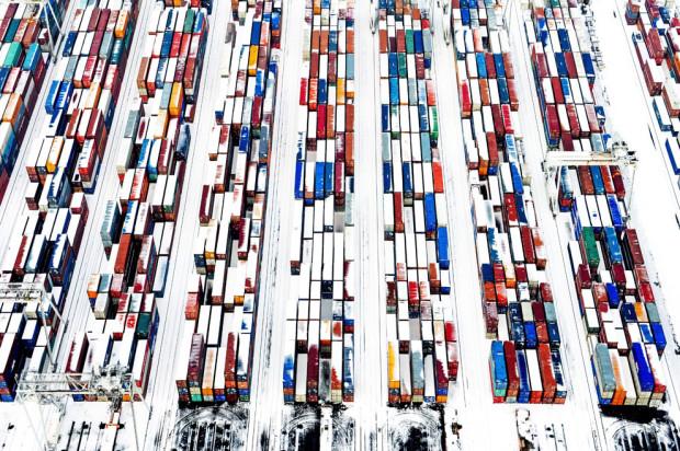 контейнеры в Роттердаме