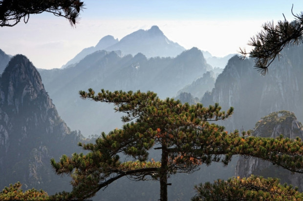 горы Хуаньшань