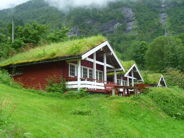 крыша в Норвегии