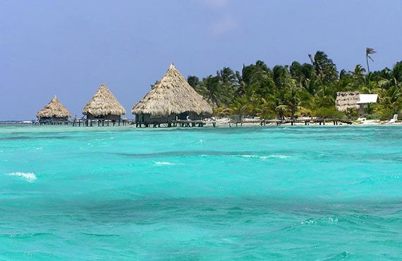 Амбергрис, барьерный риф Белиз, Карибское море