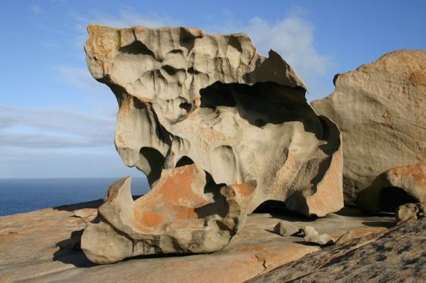 скалы в Австралии