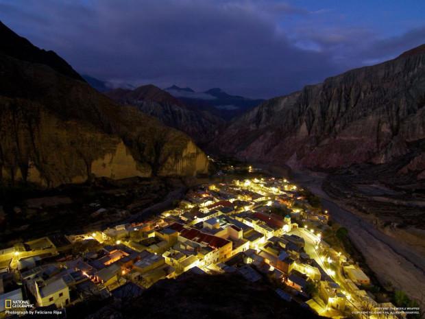 Городок Iruya в Андах. (Feliciano Ripa)