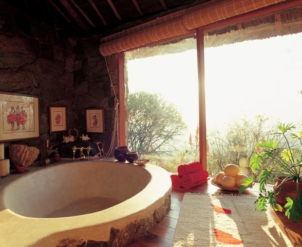 отель среди Африки