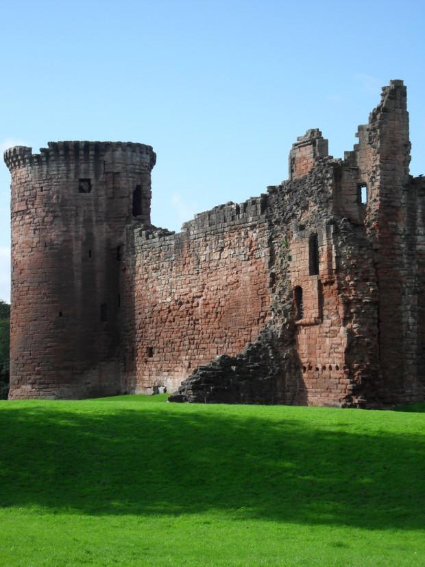 Замок Ботвелл, Шотландия