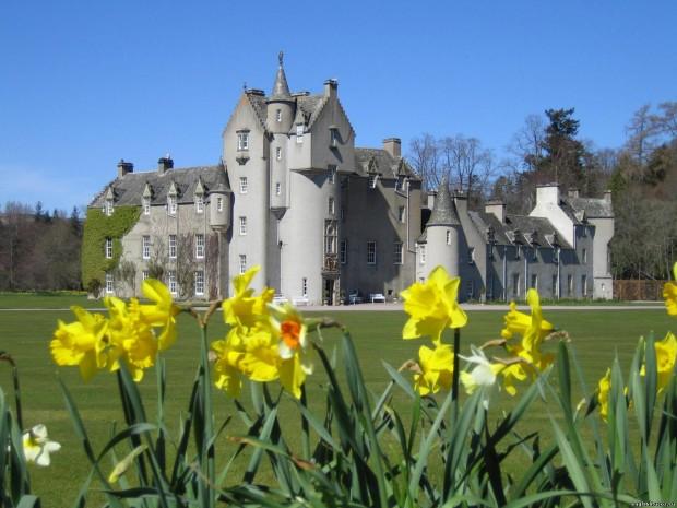 Замок Слэйнс, Шотландия