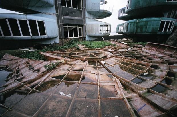 Город-НЛО, или руины будущего
