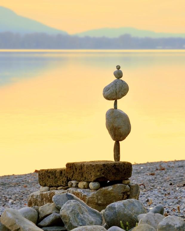 Удивительное каменное равновесие Майкла Грэба