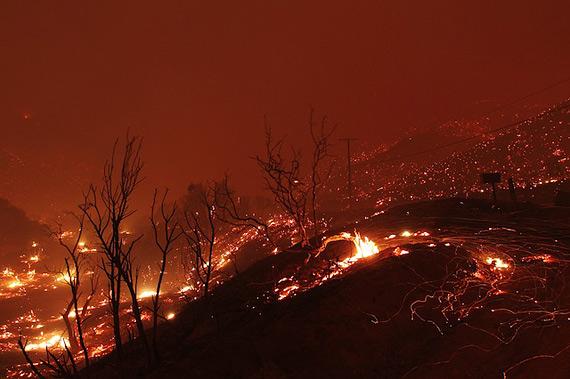 Калифорния в огне