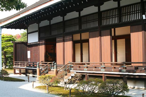 Императорский дворец Госё в Киото