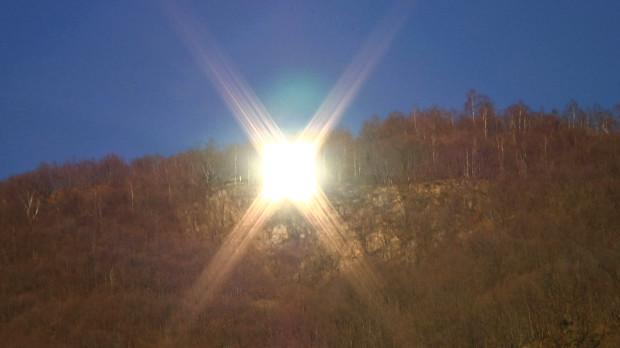 Персональное солнце для одного городка
