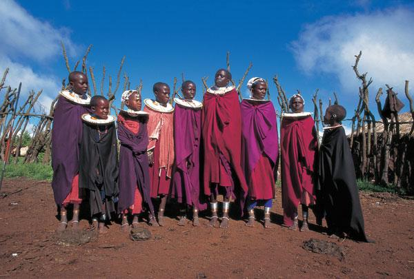 Танзания. Часть 2. Люди