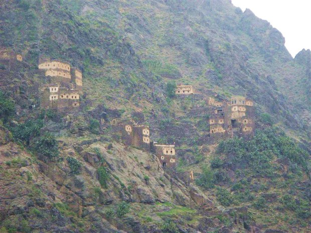 Йемен: города в горах