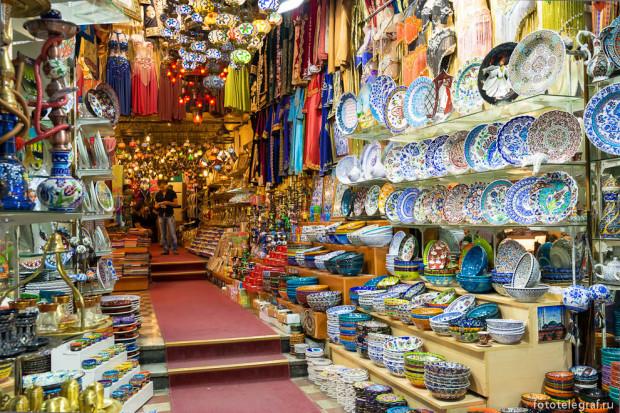 Гранд-базар в Стамбуле