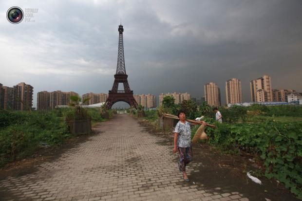 Эйфелева башня в Китае