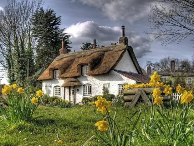 Девоншир: дома из сказки