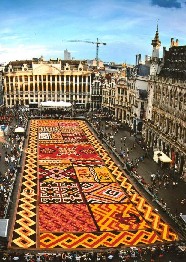 Праздник цветов в Брюсселе