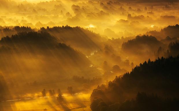 Восхитительные пейзажи Моравии (Чехия)
