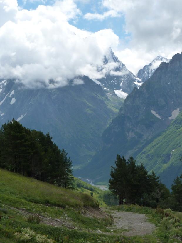 домбайские горы