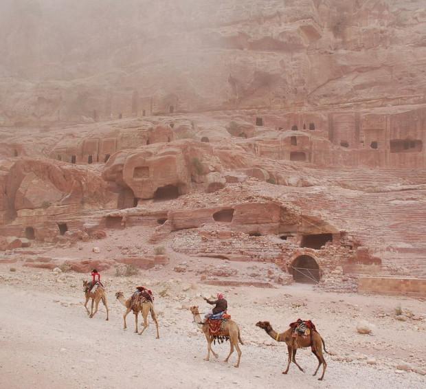 красивый город в пустыне