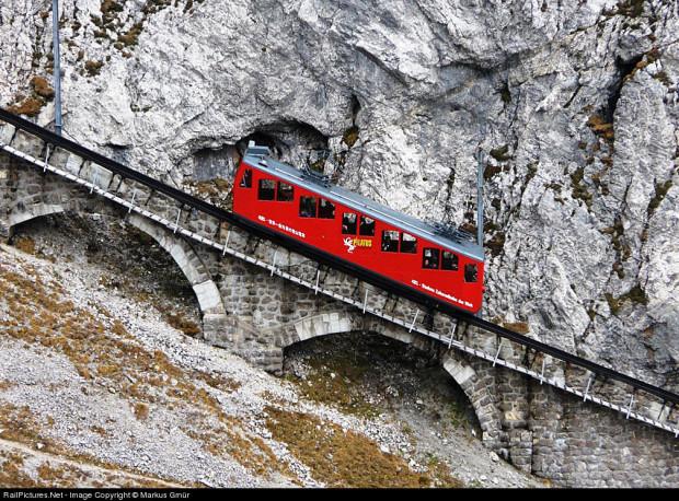 железная дорога крутая