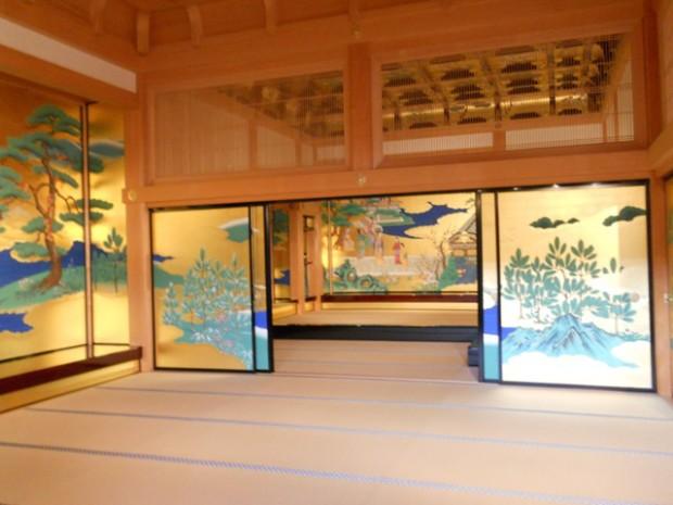 Интерьер замка Кумамото