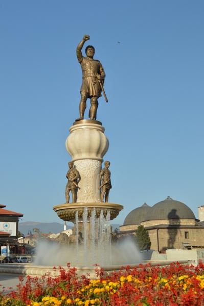 статуя в Македонии