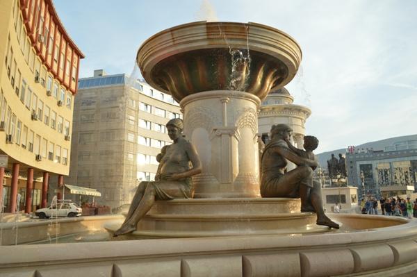Македонская столица