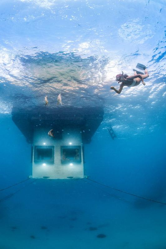 подводный номер
