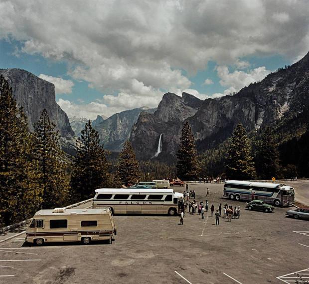 автобусы с туристами