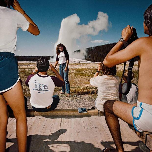 туристы с фотиками