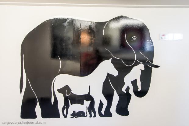 Сколько животных изображено на картине?