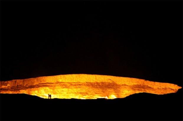 ворота в ад, туркменистан