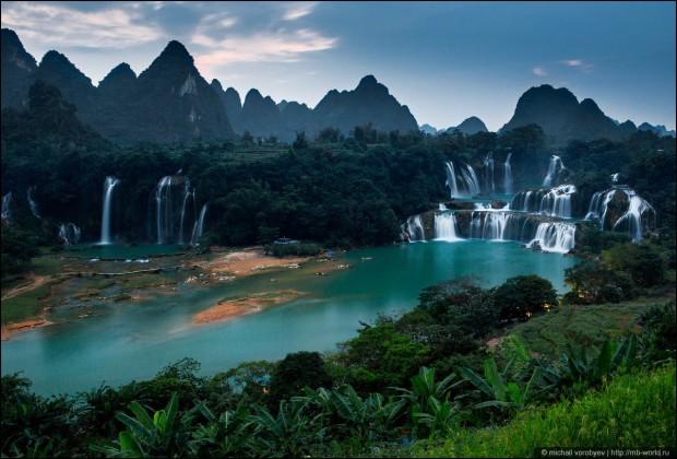 водопад дентин