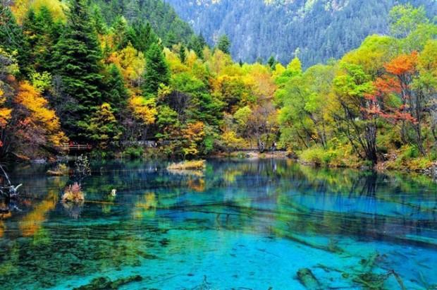 красота озера
