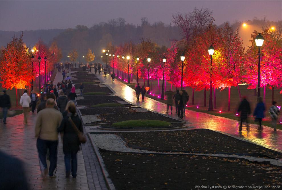 круг света в Москве