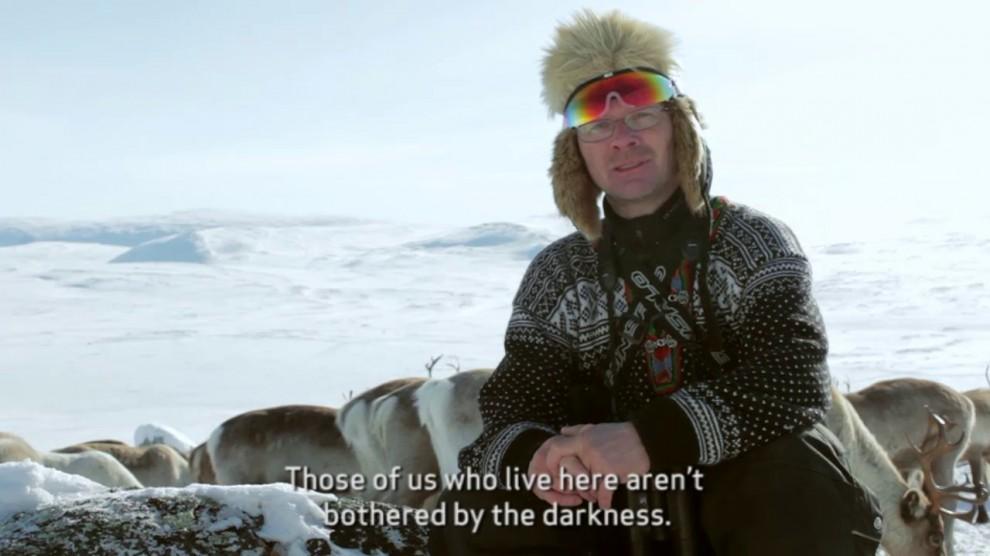 Оленевод Нильс-Матти всю жизнь прожил в северной части Лапландии. Как и 12 поколений его предков. Но он очень любит свою страну.