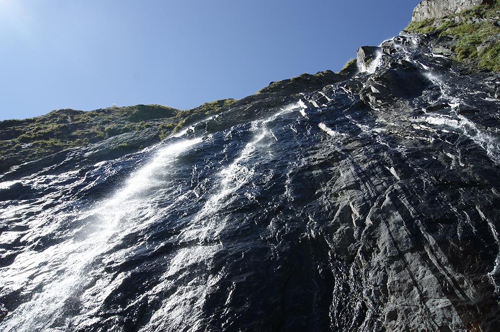 Первый Суфруджинский водопад.