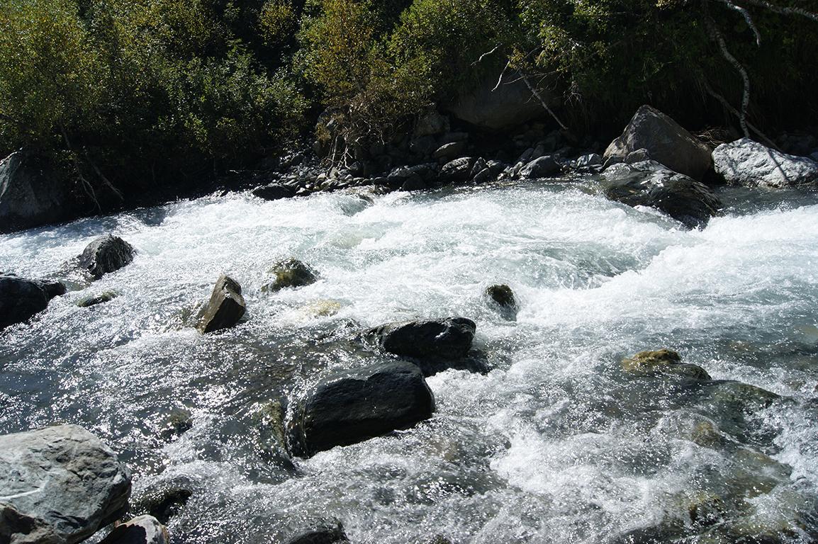 Река Домбай Ульген