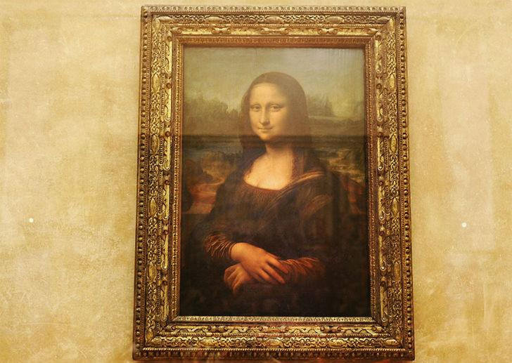 Мона Лиза. Та самая.