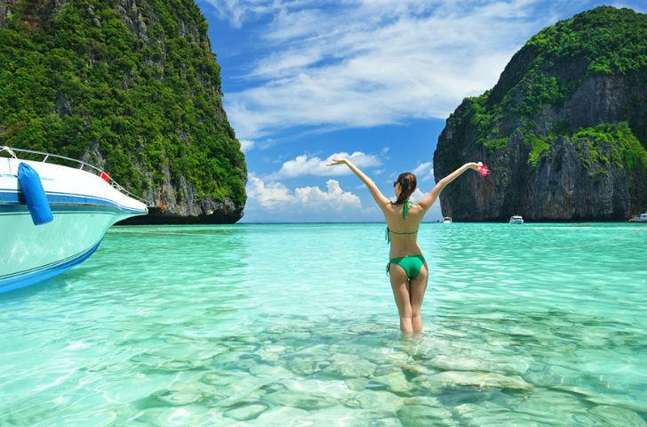 Пляжи Таиланда....