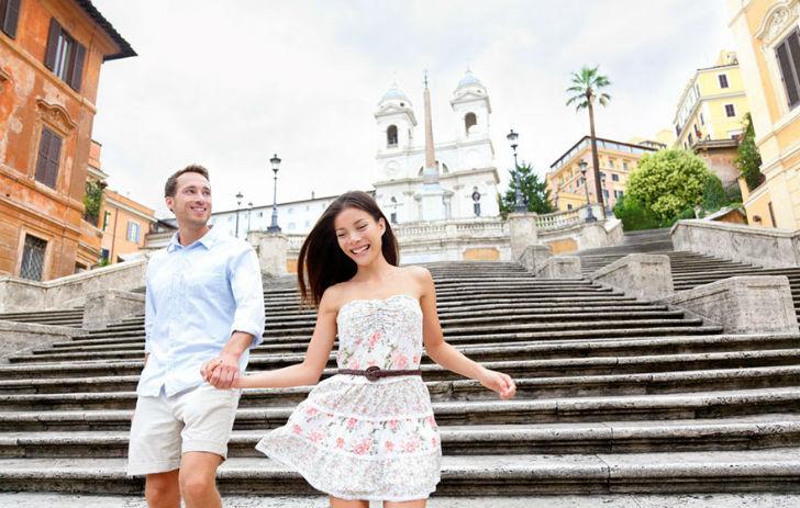 Так хочется пробежаться по Испанской лестнице в Риме...