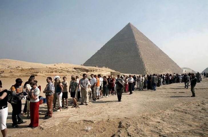 Пирамиды в реальности