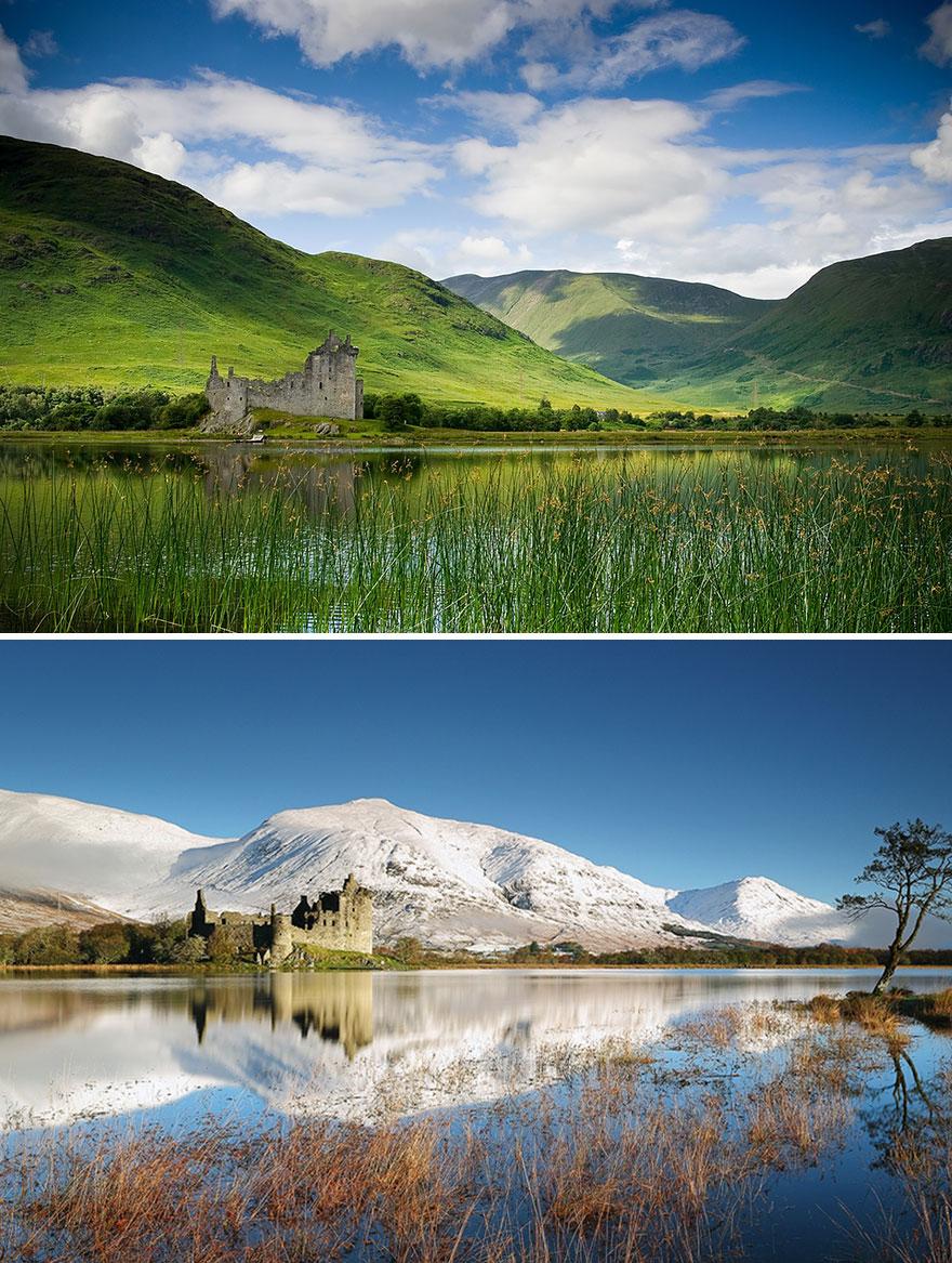 Замок Килхурн, Шотландия